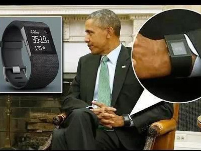 奥巴马也戴智能手环:不是apple